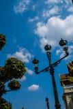 Bangkok royal palace. Lamp in Bangkok royal palace Stock Photos