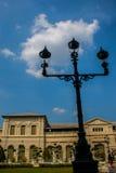 Bangkok royal palace. Lamp in Bangkok royal palace Royalty Free Stock Photography