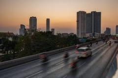 bangkok ruch drogowy Zdjęcia Stock