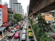 bangkok ruch drogowy obraz royalty free