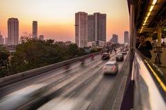 bangkok ruch drogowy Fotografia Royalty Free