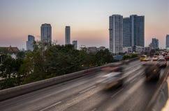 bangkok ruch drogowy Obrazy Royalty Free