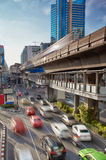 Bangkok, rush hour Royalty Free Stock Image