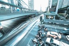 Bangkok rusningstid Arkivbilder
