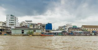 Bangkok Rzeczny Chao Phraya fotografia royalty free