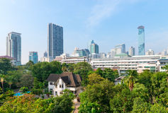 Bangkok's Beautiful Urban Skyline Stock Images