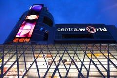 Bangkok's central world Night Royalty Free Stock Photos