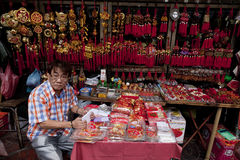 Bangkok Chinatown Royalty Free Stock Photography