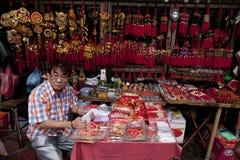 Bangkok's Chinatown Royalty Free Stock Photography