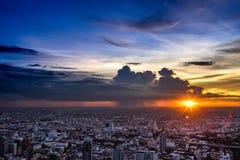 Bangkok-` s Dämmerung Lizenzfreies Stockbild