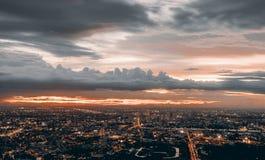 Bangkok-` s Dämmerung Stockbild