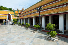 Bangkok's Wat Suthat Stock Photo