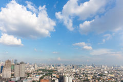 Bangkok scape, royalty free stock images