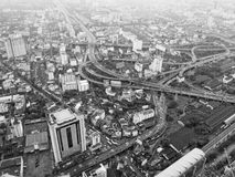 Bangkok seen from above Royalty Free Stock Photos