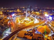 Bangkok segermonument arkivbilder