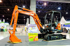 BANGKOK - September 21 : KUBOTA Super Series2 KX91-3 Multi excav Royalty Free Stock Photography