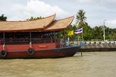 Bangkok ship Royalty Free Stock Images