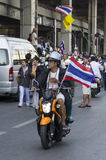 Bangkok Shutdown: Jan 13, 2014 Royalty Free Stock Images