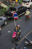 Bangkok Shutdown: Jan 13, 2014 Royalty Free Stock Image
