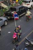 Bangkok Shutdown: Jan 13, 2014 Royalty Free Stock Image
