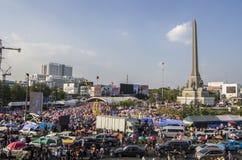 Bangkok Shutdown: Jan 13, 2014 Royalty Free Stock Images