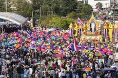 Bangkok Shutdown: Jan 13, 2014 Royalty Free Stock Photography