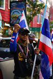 Bangkok Shutdown Stock Images