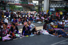 Bangkok Shutdown Royalty Free Stock Photo
