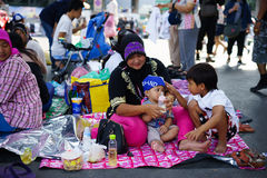 Bangkok Shutdown Stock Photography