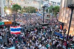 Bangkok shutdown 2014 Royalty Free Stock Images