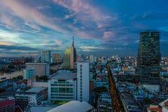 Bangkok Silom Stock Afbeeldingen