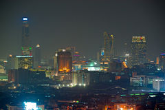 Bangkok skyline. Royalty Free Stock Image
