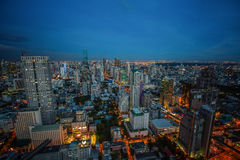 Bangkok Skyline royalty free stock photography