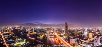 Bangkok skyline cityscape in Thailand Stock Image
