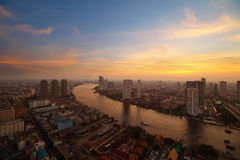 Bangkok skyline Stock Photo