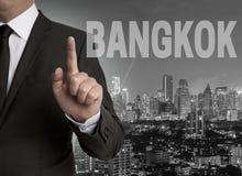 Bangkok skyline at night panorama Stock Image