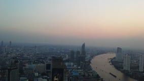 Bangkok Skyline during Sunset - Bangkok, Thailand. Stock Image