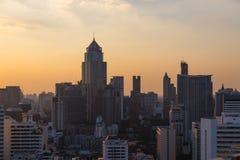 Bangkok skyline sunset panorama concept Stock Image