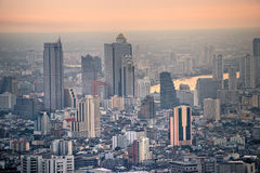 Bangkok Skyline, Thailand. Royalty Free Stock Photography