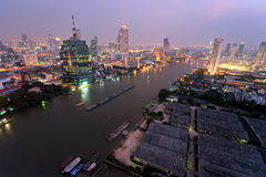 Bangkok Skyline, Thailand. stock photography