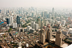 Bangkok Skyline, Thailand. Royalty Free Stock Photo
