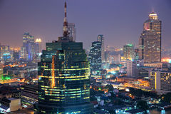 Bangkok skyline, Thailand. Royalty Free Stock Photography