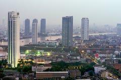 Bangkok skyline, Thailand. Royalty Free Stock Image