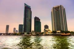 Bangkok Skyline, Thailand. Royalty Free Stock Photo
