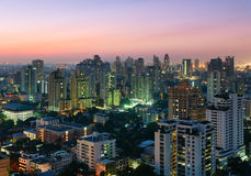 Bangkok skyline, Thailand Royalty Free Stock Images