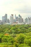 Bangkok skyline Stock Image