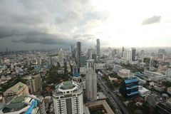 Bangkok Skyline Stock Photography