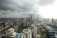 Bangkok Skyline Royalty Free Stock Images