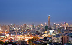 Bangkok skylines building Stock Photo