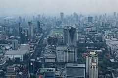 Bangkok skyscrapers. Skyscrapers in Bangkok, photographed at sunset royalty free stock image